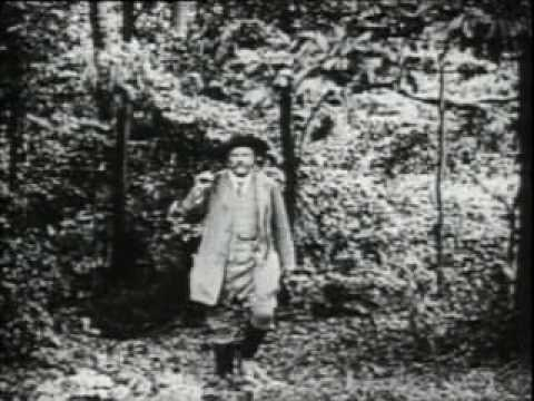 Theodore Roosevelt at his home in Sagamore Hill, Oyster Bay, Long Island, in 1912 - Part 2 of 2