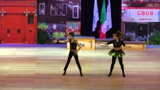 Elena Budarina & Makar Proskurdin - Europameisterschaft 2015