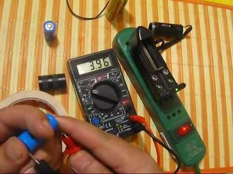 Como Recuperar Bateria de Litio 16340 (lo mismo para 18650) - www.tienda8.cl