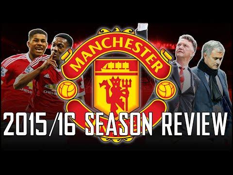 LOUIS VAN GAAL, JOSE MOURINHO, FA CUP - Manchester United 15/16 Season Review
