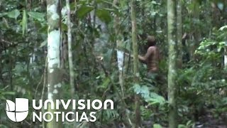 Imágenes inéditas muestran al último sobreviviente de una tribu aislada en el Amazonas de Brasil