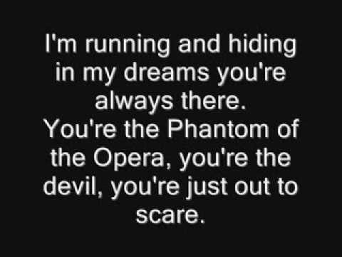 Iron Maiden - Phantom of the Opera Lyrics