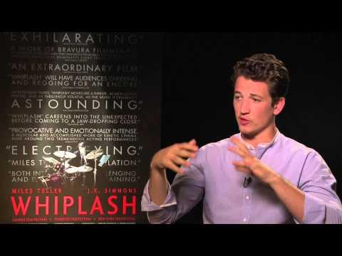 Miles Teller compares 'Whiplash' drum practice to prep for 'Fantastic Four'