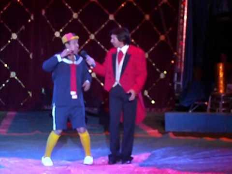 kiko II en el circo de renato 2010.MP4