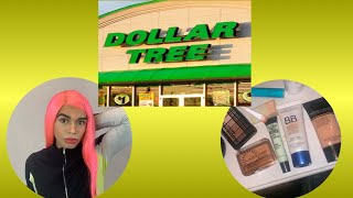 TRYING DOLLAR TREE MAKEUP FOR THE FIRST TIME EVER!!