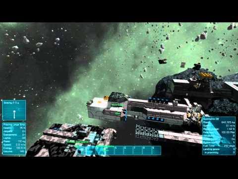 Space Engineers Survival, Episode 13, Docking Systems