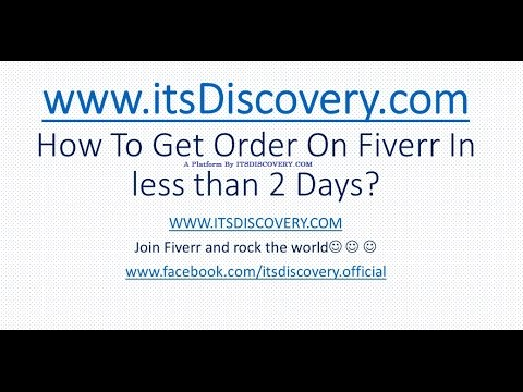 How to Get Orders On Fiverr As A beginner, Fiverr Tutorial to increase sales on Fiver, Part 3