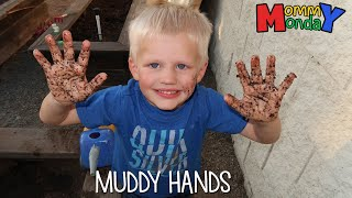 Muddy Playtime & Surprise Family Visit || Mommy Monday