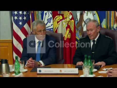 DC:DEMPSEY TO HAGEL- 'WELCOME TO THE TANK'