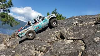 Toyota Hilux Rock Climbing rc 4x4 Adventure