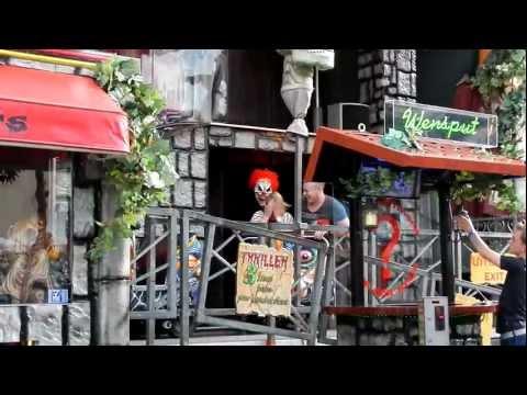 Spookhuis Thriller J.Lemmerman Tilburgse Kermis 2012 FULL HD