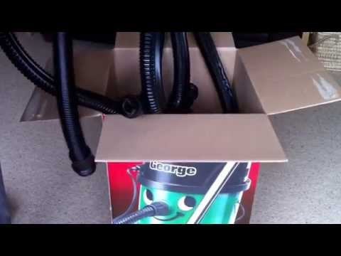 Numatic george gve370 unboxing