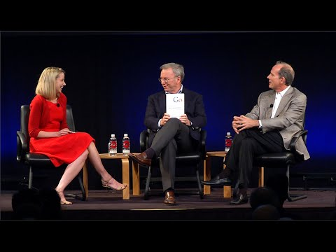 How Google Works: Eric Schmidt & Jonathan Rosenberg in Conversation with Yahoo's Marissa Mayer