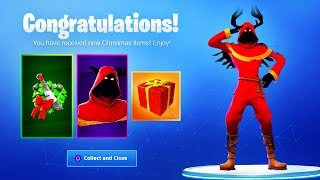 The New FREE CHRISTMAS REWARDS! (Fortnite Christmas Skins)