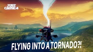 """What Happens If You Fly Into The Tornado In """"Just Cause 4"""""""