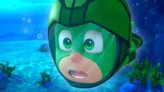 PJ Masks Season 2 💧PJ Masks Go Underwater💧PJ Masks 2019   4K HD   Superhero Cartoons for Kids