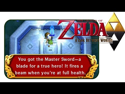 #masterswordhype | The Legend of Zelda: A link Between worlds | Ep.9 klip izle