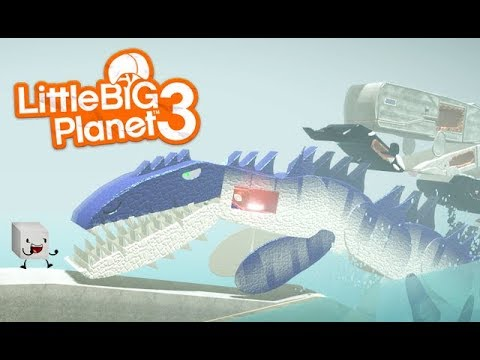 LittleBIGPlanet 3 - My Final Form... SUGAR CUBE!!! [Killer Whales and Killer Monsters] - PS4