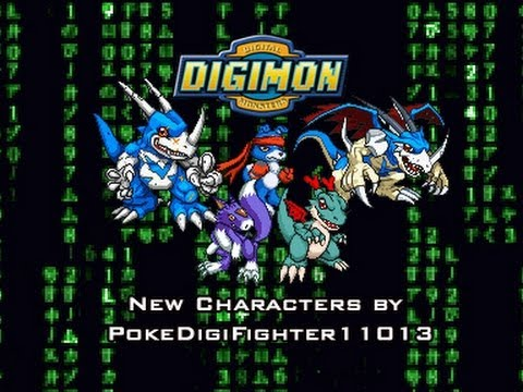 DIGIMON M.U.G.E.N Project WIP - New characters by PokeDigiFighter11013