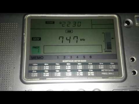IRIB Radio Iran on 747 KHz