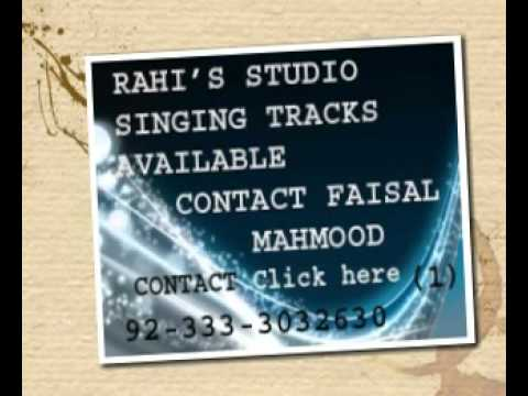 Tere Rang Rang Karaoke .rahi,s Studio Audio Recording video
