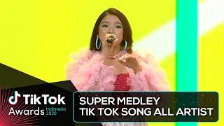 Download lagu All Artist - SUPER MEDLEY TIKTOK SONG | TIKTOK AWARDS INDONESIA 2020