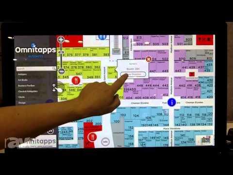 InfoComm 2013: Omnitapps Presents Interactive Wayfinding