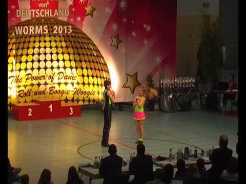 Madita Kudla & Leon Weber - Großer Preis von Deutschland 2013