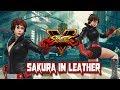 Street Fighter 5 mods Sakura in Leather