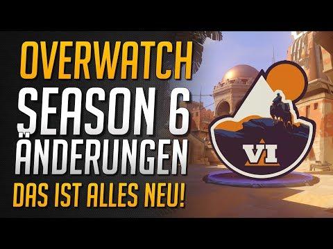 SEASON 6 ÄNDERUNGEN | Platzierungsmatches verändert | Kurze Season | Alle Infos ★ Overwatch Deutsch