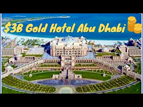 Worlds Most Expensive Gold Hotel, Emirates Palace Abu Dhabi *HD* 2013