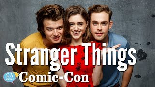 """Stranger Things"" Cast Says ""The Hype Was Real"": Comic-Con 