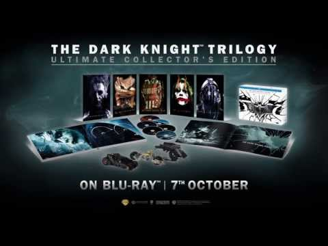 The Dark Knight Trilogy: Ultimate Collector's Edition - 'Film Reality' EC - Official Warner Bros. UK