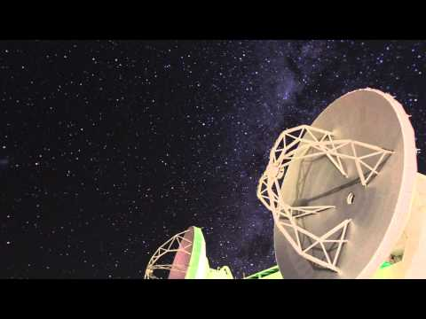 Time-lapse video of night sky in northern Chile