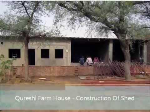 Constructing Shed for Goat Farming by Akbar, Qureshi Farm ...