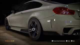 NEED FOR SPEED 2015 BMW M4 BULID