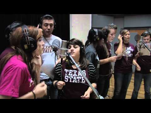 Andrew Lippa records It Gets Better with Texas State University musical theatre students!