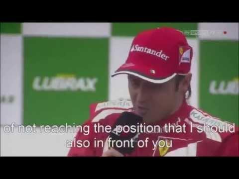 Felipe Massa Goodbye Ferrari! 2006 2013