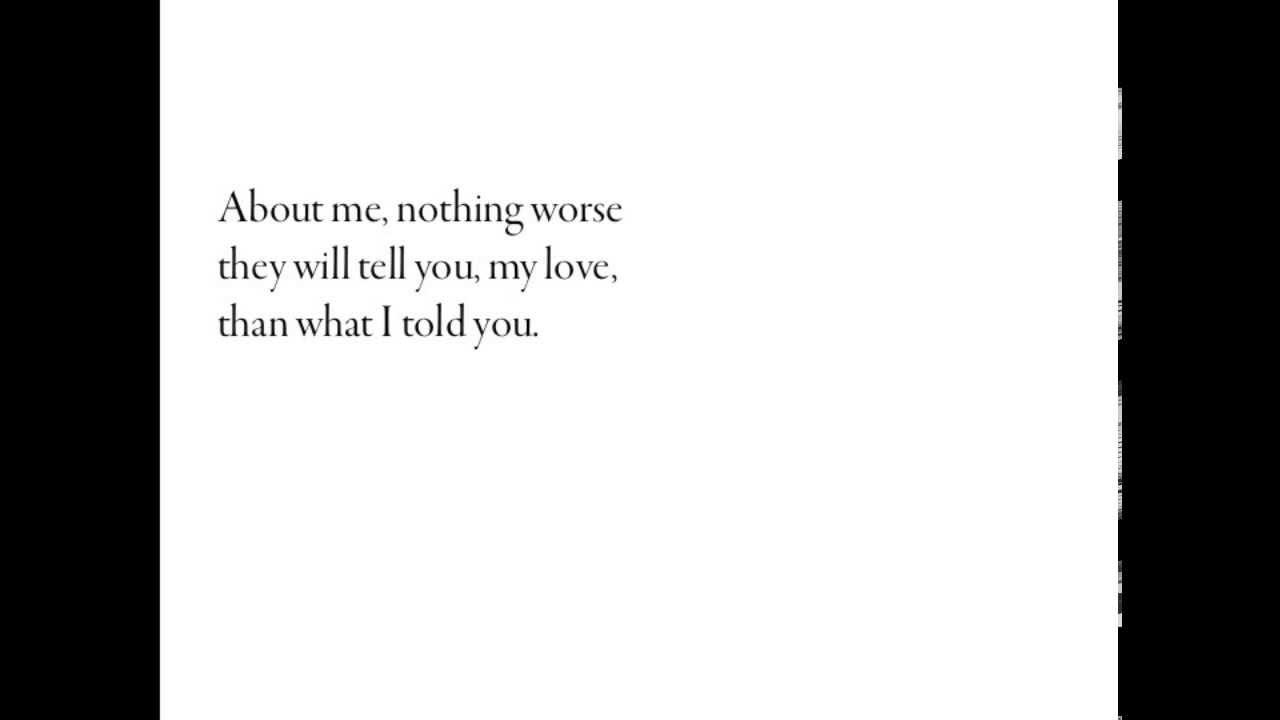 Pablo Neruda and because love battles