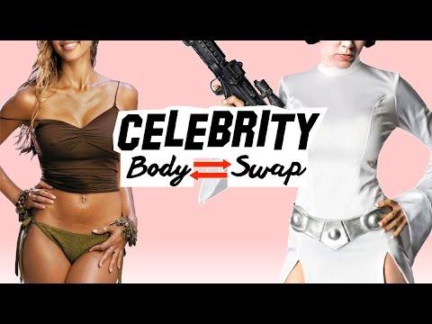 BODY SWAP! - Jessica Alba as Princess Leia! - STAR WARS