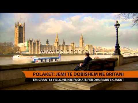 Polakët: Jemi të dobishëm në Britani - Top Channel Albania - News - Lajme