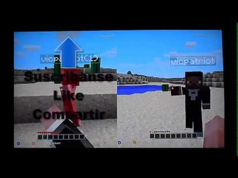 Como Jugar Minecraft  Multiplayer Xbox 360 Edition