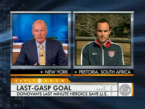 Landon Donovan on Last Minute Goal Video