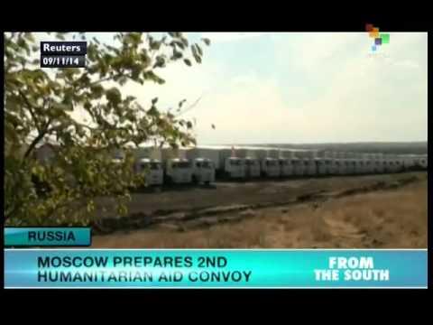 Russia preparing 2nd humanitarian aid convoy to Ukraine