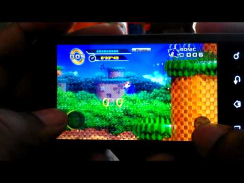 Sonic 4 episode 1 (android)
