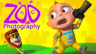 TooToo Boy - Zoo Photography Episode   Funny Comedy Show For Kids   Cartoon Animation For Babies