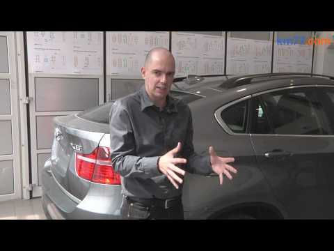BMW ActiveHybrid X6 - Depósito