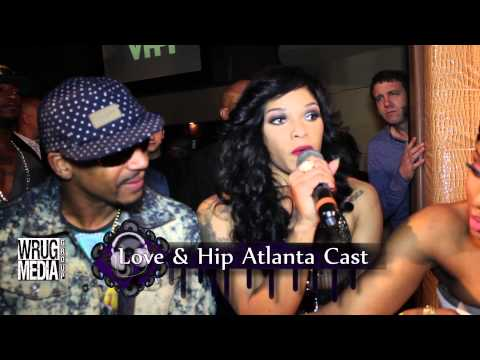 LOVE AND HIP HOP ATL SEASON 2 - DRAMA  AT LIVE TAPING (MIMI, JOSELINE, SHAY, ERICA)