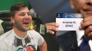 ARSENAL DRAW BAYERN AGAIN!!! Champions League Draw Reaction + Predictions!