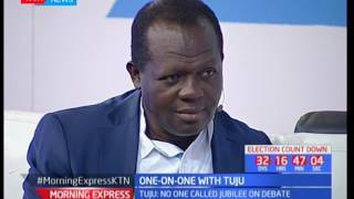 Rafael Tuju on why President Uhuru Kenyatta ought out of the debate